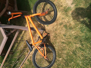 Orange sunday bmx