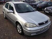 2002/52 Vauxhall/Opel Astra 1.6i 16v a/c LS LONG MOT EXCELLENT RUNNER