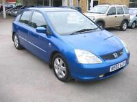 SPORTY LITTLE HONDA CIVIC 2.0 TYPE S 5 DOOR IN BRIGHT BLUE