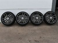 """20"""" M-Performance Style Alloy Wheels for a F30, F31 BMW 3 Series"""