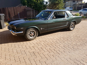 "1966 Ford Mustang 289 ""A"" code"
