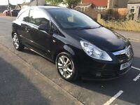 VAUXHALL CORSA 1.2 SXI MANUAL BLACK EXCELLENT CONDITION