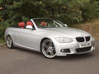 2010/60 BMW 320D M Sport Auto Convertible BIG SPEC ! FULL BMW SERVICE HISTORY !