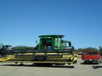 Combine/Swather Operator Available