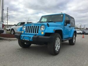 2017 Jeep Wrangler Sahara  - Navigation - Leather Seats - $269.7