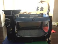 Lux Playpen For Sale with Storage & Changing Table