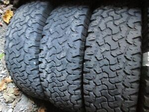 4---LT245/70R16 B F Goodrich All Terrain---8 ply