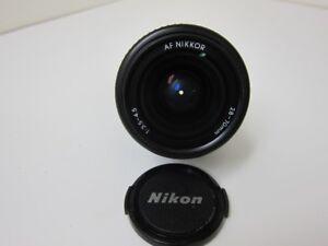 Nikon AF Nikkor 50mm Lens
