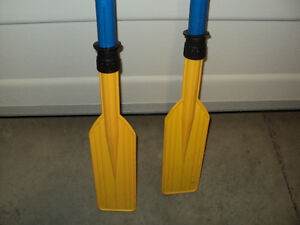 "45"" EMERGENCY BOAT PADDLES $20 FIRM TAKES PAIR CALLS ONLY PLEASE"