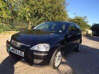 Vauxhall corsa black automatic 1 lady owner FSH 1 litre auto