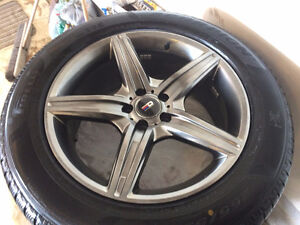 winter tires and rims 2012 mercedes GL 350.255/55/19