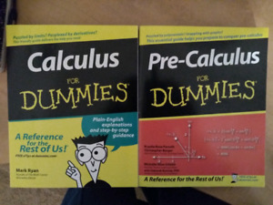 Pre-Calculus and Calculus for Dummies