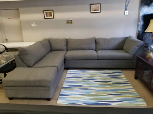 Super comfy grey sectional