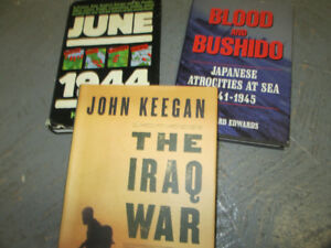 Military Books Collection - WWII & Other Conflicts