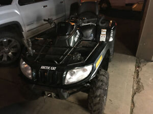 2013 arctic cat TRV 500 XT