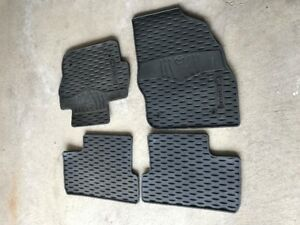 OEM floor rubber mats for Mazda 3