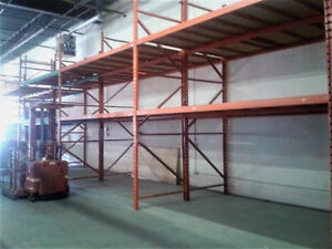 Assorted Used Pallet Racking
