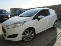 FORD FIESTA SPORT VAN 1.6 TDCI 2014 AIR CON FULL SERVICE HISTORY 9 SERVICES VGC