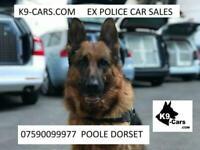 2011 61 Mitsubishi Outlander ex police dog unit K9 Van 2 large kennels fans A/C