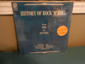 Vinyl Record/LP History of Rock N Roll Still  60's Sealed MInt