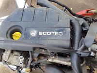 Vauxhall Astra 1.7 CDTI Complete Engine Code Z17DTH