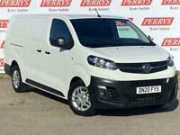 2020 Vauxhall Vivaro 3100 2.0d 120PS Dynamic H1 Van Van Diesel Manual