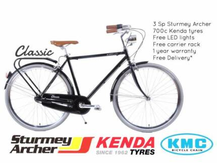 NIXEYCLES Classic City Bicycle - 3 Speed | Free Delivery*