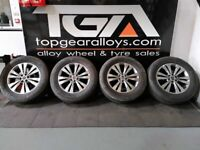 "18"" GENUINE MERCEDES X-CLASS HIMALAYA ALLOY WHEELS & TYRES"