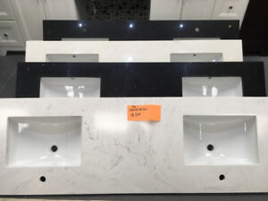S-A-L-E all vanity countertops on floor!! over 60+ choice!!