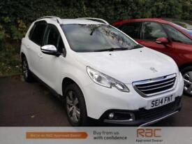PEUGEOT 2008 ALLURE 2014 Petrol Automatic in White
