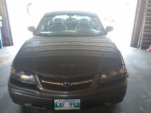 2003 Chevrolet Impala Safetied