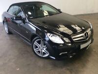 £257.01 PER MONTH 2011 MERCEDES E220CDI SPORT EDITION (B/E) AUTO CONVERTIBLE