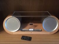 Speaker dock for iPod, iPhone & I pad