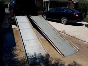 Moving ramps
