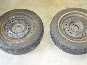 Two rims 195/75/R14