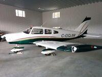 Avion 4 passagers, marque Piper, Cherokee Warrior 1977, PA28-161