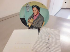 Elvis Collector Plates