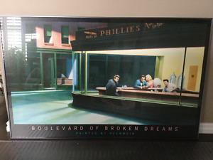 Rare Boulevard of Broken Dreams Framed Print