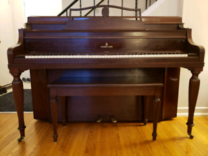 STEINWAY&SONS CONSOLE UPRIGHT PIANO