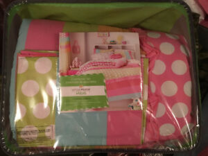 "Girl's ""Sugar Rush"" 3 piece  Double Size Comforter Set"