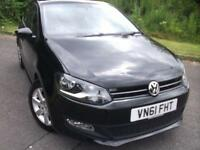 2011 61 VOLKSWAGEN POLO 1.2 MATCH TDI 5D 74 BHP ** DIESEL TDI , £20 ROAD TAX *