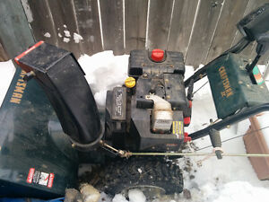 Sears Craftsman 9 hp 27 inch snowblower