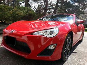 2014 Scion FR-S Firestorm Red Coupe Lease Takeover