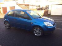 2004 Ford Fiesta finesse 12.5, 3 door, blue