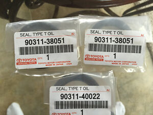 Toyota Cam Seals - 4Runner and Tundra 3.4l v6