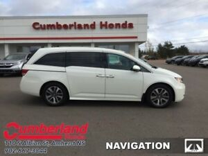 2016 Honda Odyssey Touring  - DVD Player -  Navigation