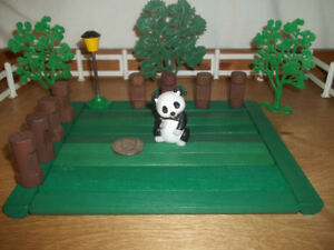Vintage West Germany Schleich -Apollo Film Wien Panda 1984