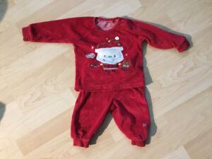 Pyjama Souris-Mini de Noël 6/9mois