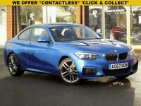 2017 67 BMW 2 SERIES 1.5 218I M SPORT 2DR (NAV) STEP AUTO