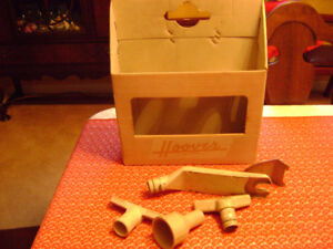 Vintage Hoover Original Cardboard Accessories Tote Box